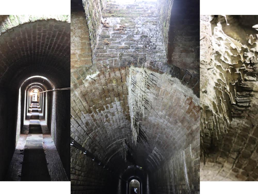 aquaducten in het droogdok Jan Blanken in de vesting van Hellevoetsluis