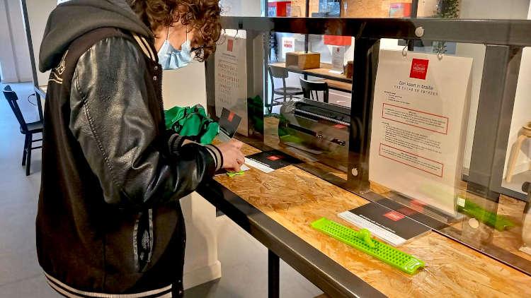 zelf braille maken in muZIEum