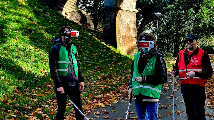 Met VR brillen de straat op in Nijmegen. Review van het muZIEum
