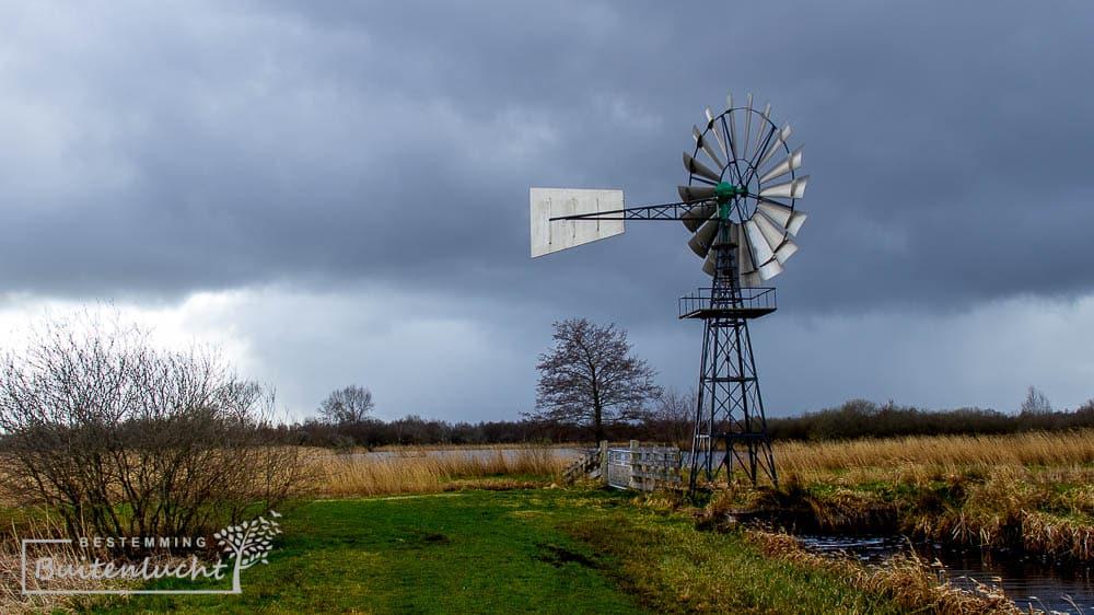 amerikaanse molen in Friesland