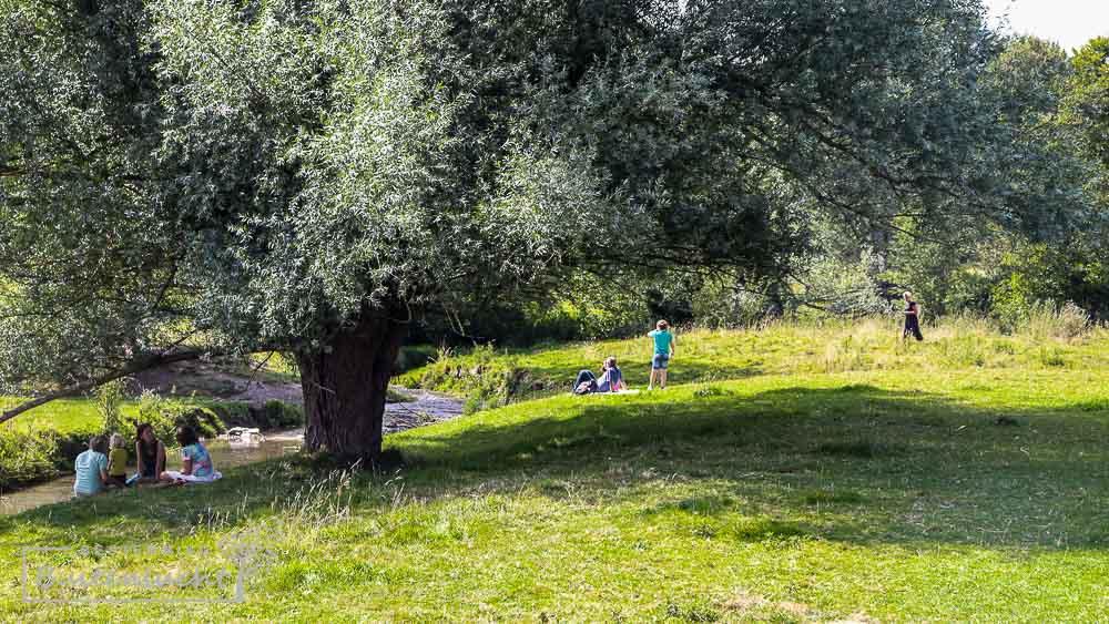 Picknicken langs de Gulp bij Slenaken