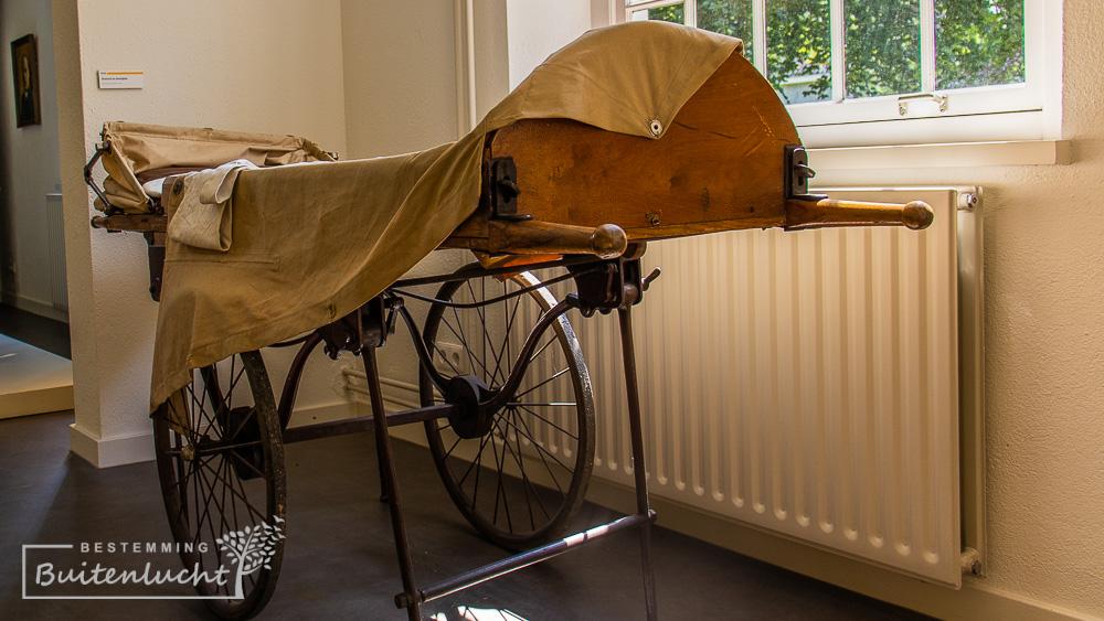 prancard in Museum De Kluis in Boekel