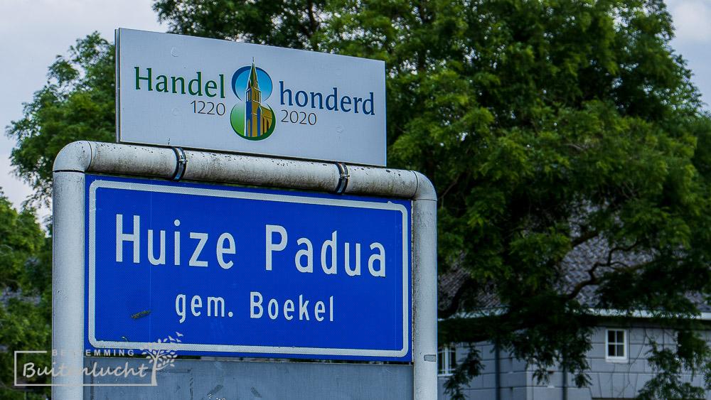 Plaatsnaambord Huize Padua