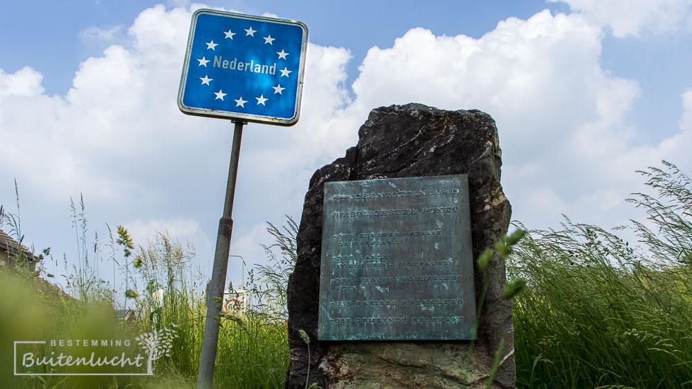 Grenssteen bij Westzipfel punkt