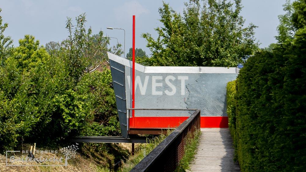 Westzipfel punkt, het uitsterste puntje van de Drielandenwandeling
