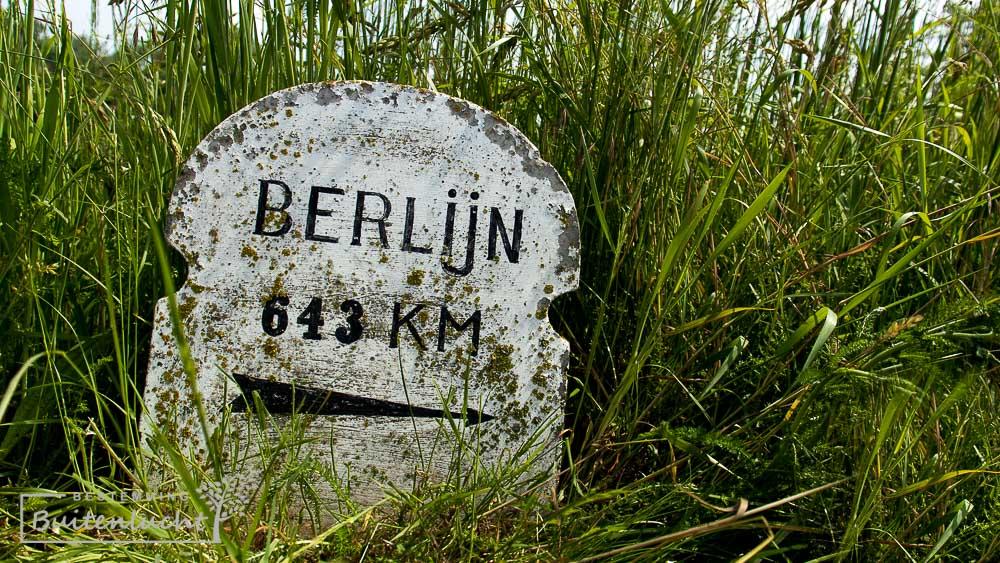 De Drielandenwandeling gaat een paar honderd meter door Duitsland, maar niet helemaal naar Berlijn.