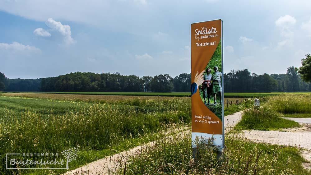 De Drielandenwandeling gaat dwars door het smalste stukje Nederland