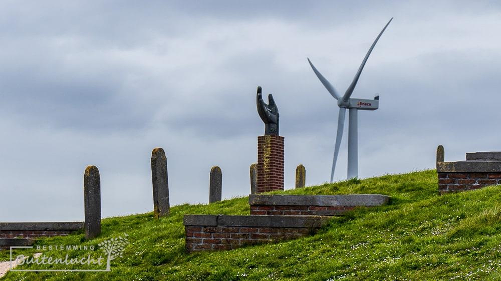 de hand van Oterdum en windmolen