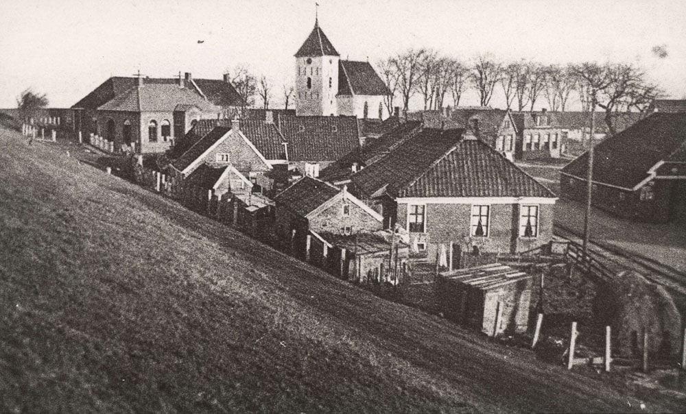 Dorpsgezicht Oterdum omstreeks 1930